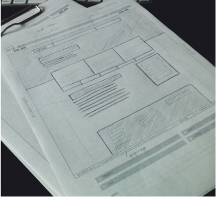 Прототип на бумажном носителе