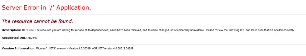 Шаблон страницы обработки 404 Not Found